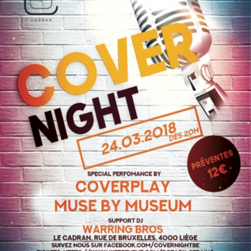 Cover Night invite Coverplay & Museum